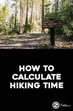 For casual hikers--particularly day hikers trying to fit in a quick hike in the wilderness--knowing how long a hike will take is of utmost importance. Many times a hiking trail will list its mileage but not an estimated time to complete it, leaving hikers Thru Hiking, Hiking Tips, Camping And Hiking, Hiking Gear, Hiking Backpack, Camping Hacks, Camping Ideas, Camping Life, Camping Jokes
