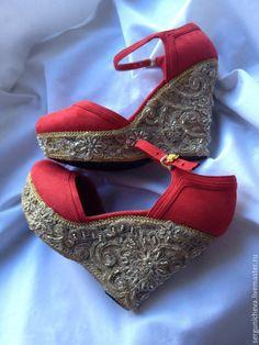"""Купить Туфли""""Milan Мorning""""в стиле DG - итальянский стиль, италия, византийский стиль, византия"""