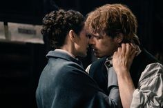 Jamie and Claire reunited