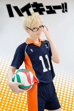 Tsukishima Kei =^_^= by: ryuichi randoll(Ryuichi) Kei Tsukisima Cosplay Photo - WorldCosplay