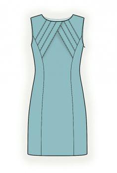 Robe - Patrons de couture #4347