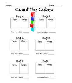 """Tens and Ones Math Centers - also additional """"freebies""""- looks like it could be useful for most elementary teachers"""
