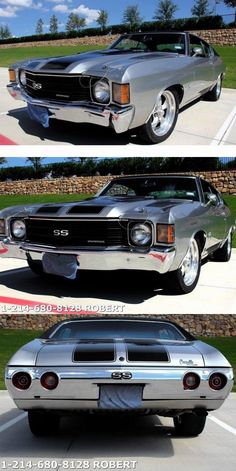 1972 Chevrolet Chevelle SS for sale Muscle Cars For Sale, Custom Muscle Cars, Chevy Muscle Cars, Best Muscle Cars, American Muscle Cars, 1957 Chevrolet, Chevrolet Chevelle Ss, 1972 Chevelle Ss, 70 Chevelle