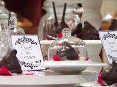 Conitos de chocolate   Recetas  