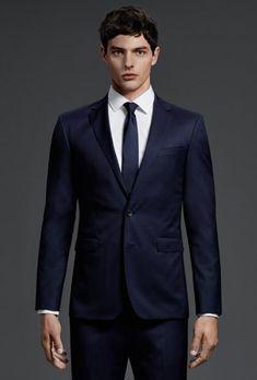 Slim fit suit separates jacket by BOSS