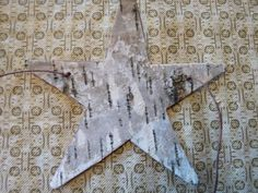 I had a request for more information on the birch bark used in crafts. Peeling bark from a live tree is a bad idea. The tree will likely di. Birch Christmas Tree, Rustic Christmas, Christmas Crafts, Christmas Decorations, Christmas Ornaments, Xmas, Tree Crafts, Diy Crafts, Birch Bark Crafts