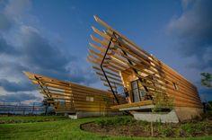 Dor huts on Architizer