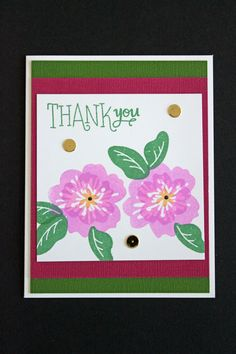 SSS March Stamp Kit - Floral Stamps.