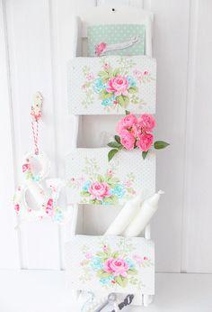 Beautiful shelves by German Pastel Home: http://kimmlisch.blogspot.co.uk/ | via Heart Handmade UK