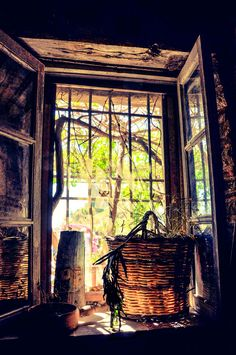 Window at Bar Vitelli, Sicily