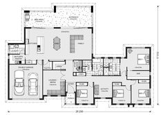 Bedrooms/chns activity layout
