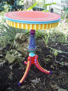 New funky painted furniture mackenzie childs fun 20 Ideas Painting Kids Furniture, Diy Kids Furniture, Trendy Furniture, Diy Outdoor Furniture, Repurposed Furniture, Furniture Makeover, Whimsical Painted Furniture, Painted Chairs, Hand Painted Furniture