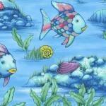 FABRIC - THE RAINBOW FISH