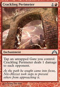 4x Crackling Perimeter NM-Mint English Gatecrash MTG Magic