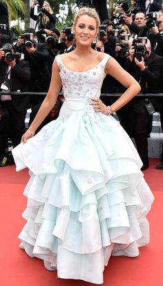 Blake Lively / The famous French film festival never lacks for fabulous fashion
