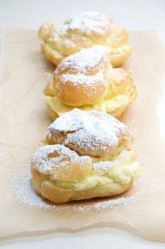 Did you ever have a gathering without cream puffs? #EverybodyLovesItalian Www.everybodylovesitalian.com