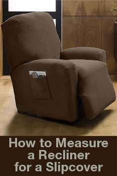 Make An Ugly Lazy Boy Look Pretty Recliner Slipcover