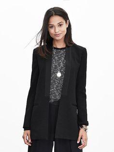 Jacquard Long Tuxedo Jacket Product Image