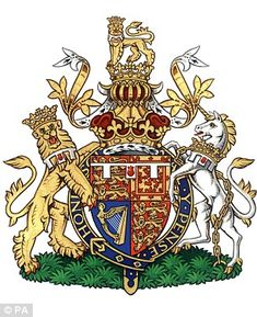Prince William's coat of arms