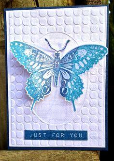 My Paper Epiphany/Penny Black butterfly