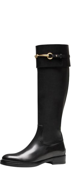 @gucci Jamie Riding Boot - just bought these! To die!!!!! Love walking around NYC with them. Chic and comfty for winter!