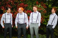 Bow Tie Braces Groom Stylish Relaxed Hertfordshire Wedding http://www.mikiphotography.info/
