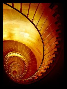 I love spiral staircases!