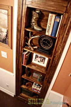 Hidden Bookcase Door
