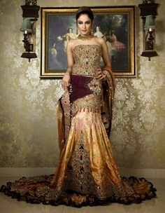 Western Pakistani  Inspired Best Bridal Suits