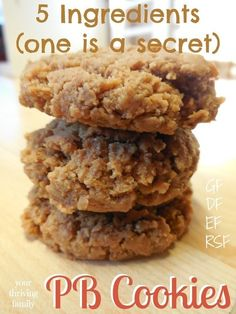 5 Ingredient Healthy-Enough-for-Breakfast Peanut Butter Cookies | Nutrition & Recipes | Scoop.it
