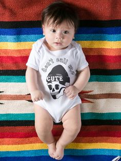Cutie Onesie from Likely Baby available in store & online from Grit n Glory