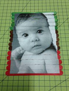 Una original idea para hacer un puzzle para el día del padre con una foto de tus pequeños. Es una manualidad fácil de hacer y cuyo resultado es muy hermoso. #diy #handmade #diadelpadre
