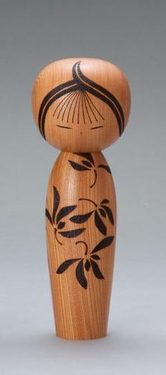 I received one of these dolls from Japan Air Lines back in 1970s. Japanese Kokeshi doll