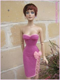 Crochet dress by BasiaCollection