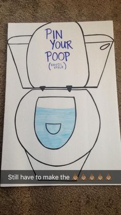 811ed0e4 Pin your poop emoji. Made for my daughter's 8th birthday