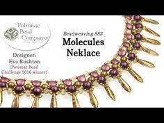 Molecules Necklace Design Tutorial (1st Place PBC Challenge 2016)   ~ Seed Bead Tutorials