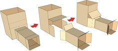 wonderful tips for building with cardboard and getting free boxes!