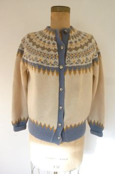 *hand made in Norway *made by Tourists International Sweater Cardigan, Men Sweater, Norwegian Knitting, Fair Isles, Fair Isle Knitting, Vintage Sweaters, Norway, Knit Crochet, Stylish