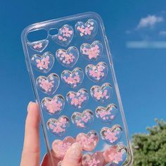 Buy Gadget City Glittered Heart Phone Case - iPhone 6s / 6s Plus / 7 / 7 Plus   YesStyle #iphone6s, #iphone7pluscase #iphone6scase,