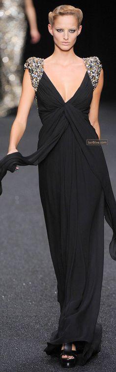 So Elegant Black Gown