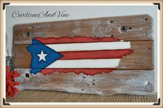 Puerto Rico Pallet Wood Sign