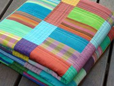 """Such a yummy looking """"Chaos Quilt"""" by Rita Hodge of Red Pepper Quilts."""