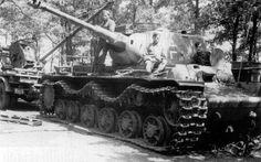 Panzerkampfwagen KV-IA 753r mit 7.5cm KwK 40 L.43
