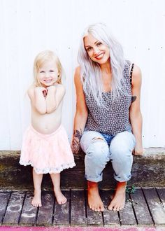 Lou and Lux, like mother like daughter, both are gorgeous.