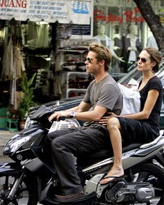 Brad Pitt and Angelina Jolie: