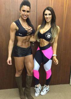 The Brazilian Dynamic Duo, Gracyanne Barbosa and Carol Saraiva