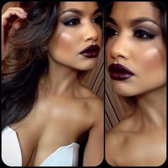 That rich dark burgundy omg amazing!!!