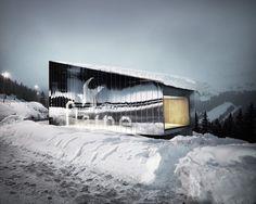 Pavillon d'accueil / R-architecture