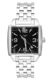 Price:$387.00 #watches Tissot T0055101105700, Tissot, the 'Innovators by Tradition', has been pioneering craftsmanship and innovation since its foundation in 1853. The company has had its home in the Swiss watch making town of Le Loche in the Jura mountains but now has its presence in over 150 countries. The Tissot innovation leadership is enabled by the development of high-tech products, special materials, and advanced functionality.