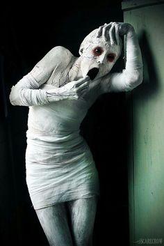 Wicked creepy Halloween Mummy!
